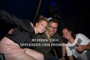 Michiel Veenstra op MiniRok 2016
